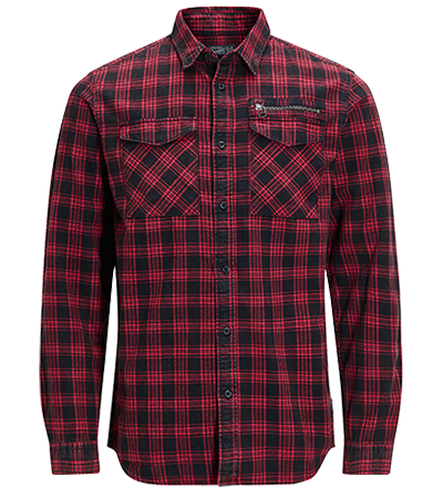 0ee89de7d87 Wardrobe essential: red and black checkered shirt | ORGINALS by JACK ...