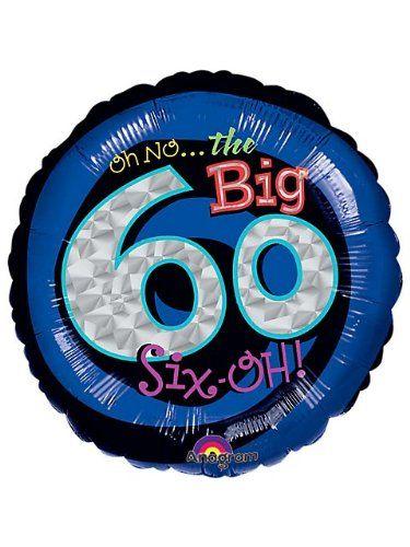 Oh No 60th Birthday Balloon