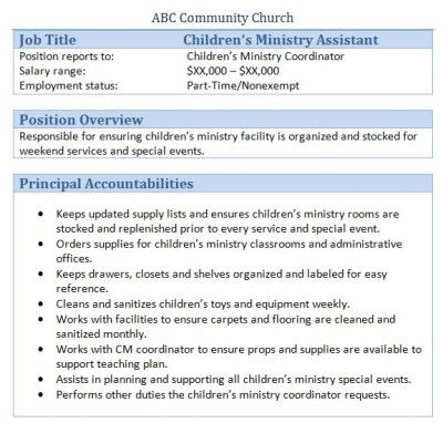 church administrator 15 useful materials for church administrator itbillion - Sample Resume Church Administrative Assistant