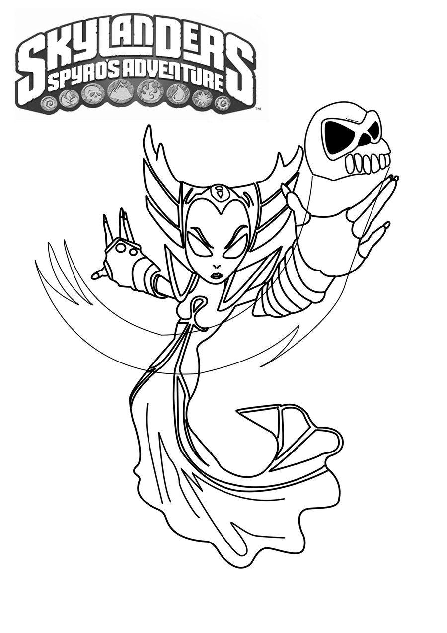 skylanders fryno coloring pages | Skylanders Coloring Page :: Hex | Skylanders, Coloring ...