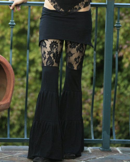 .....skirt with flaired leggings