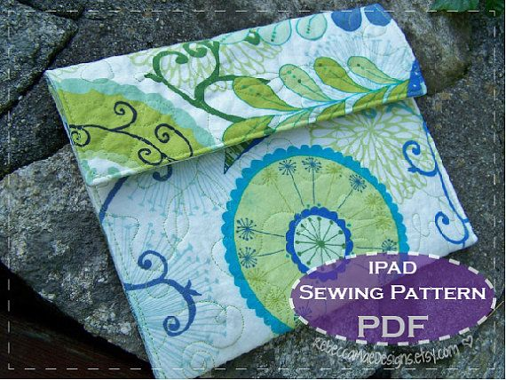 iPad COVER PATTERN - sewing diy pattern for ipad, tablet or ereader ...