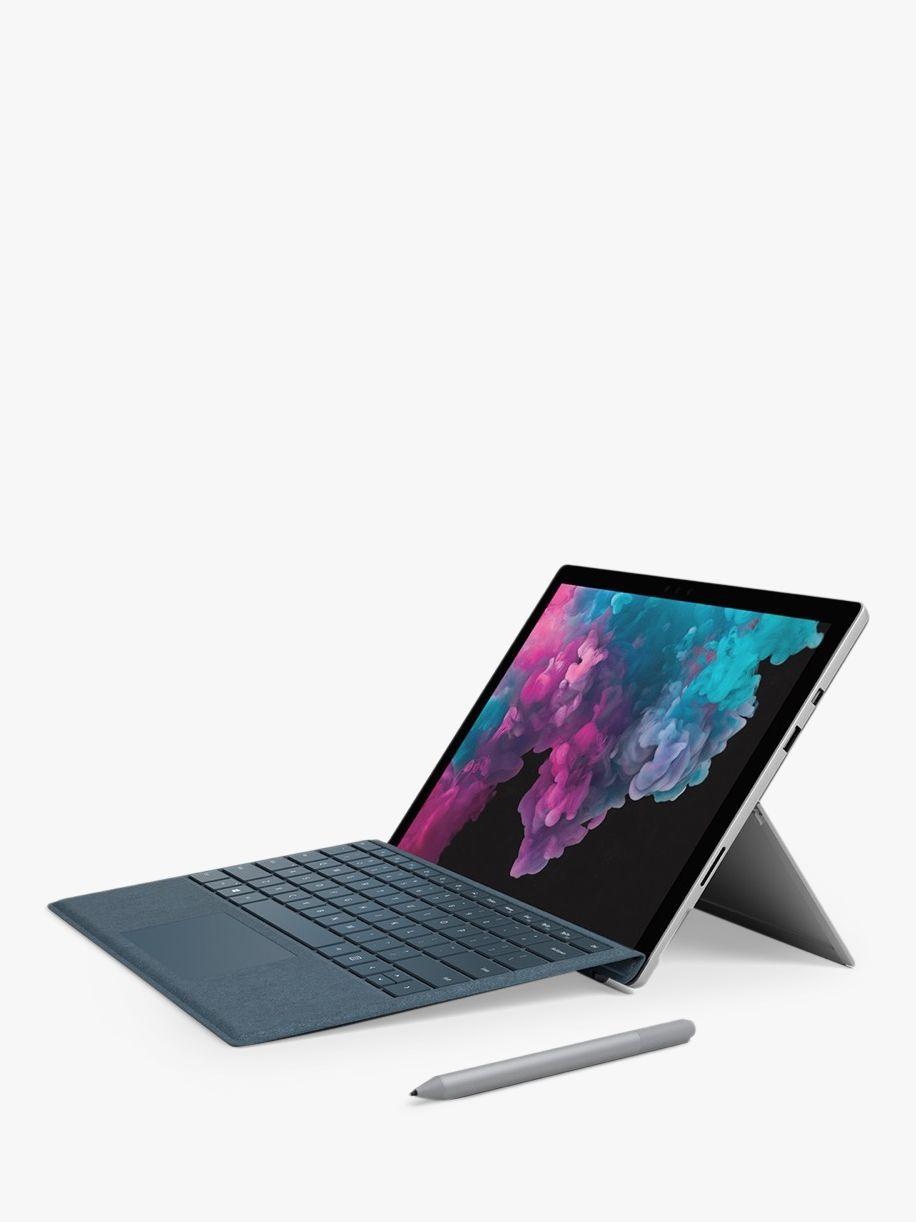 Microsoft Surface Pro 6 Tablet Intel Core I7 8gb Ram 256gb Ssd 12 3 Touchscreen Platinum Microsoft Surface Surface Pro 4gb Ram