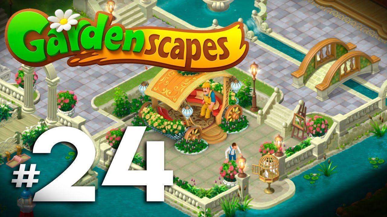 Gardenscapes New Acres 🌻 #24 | Nivel 1400   1425 Lámparas Y Balaustrad.