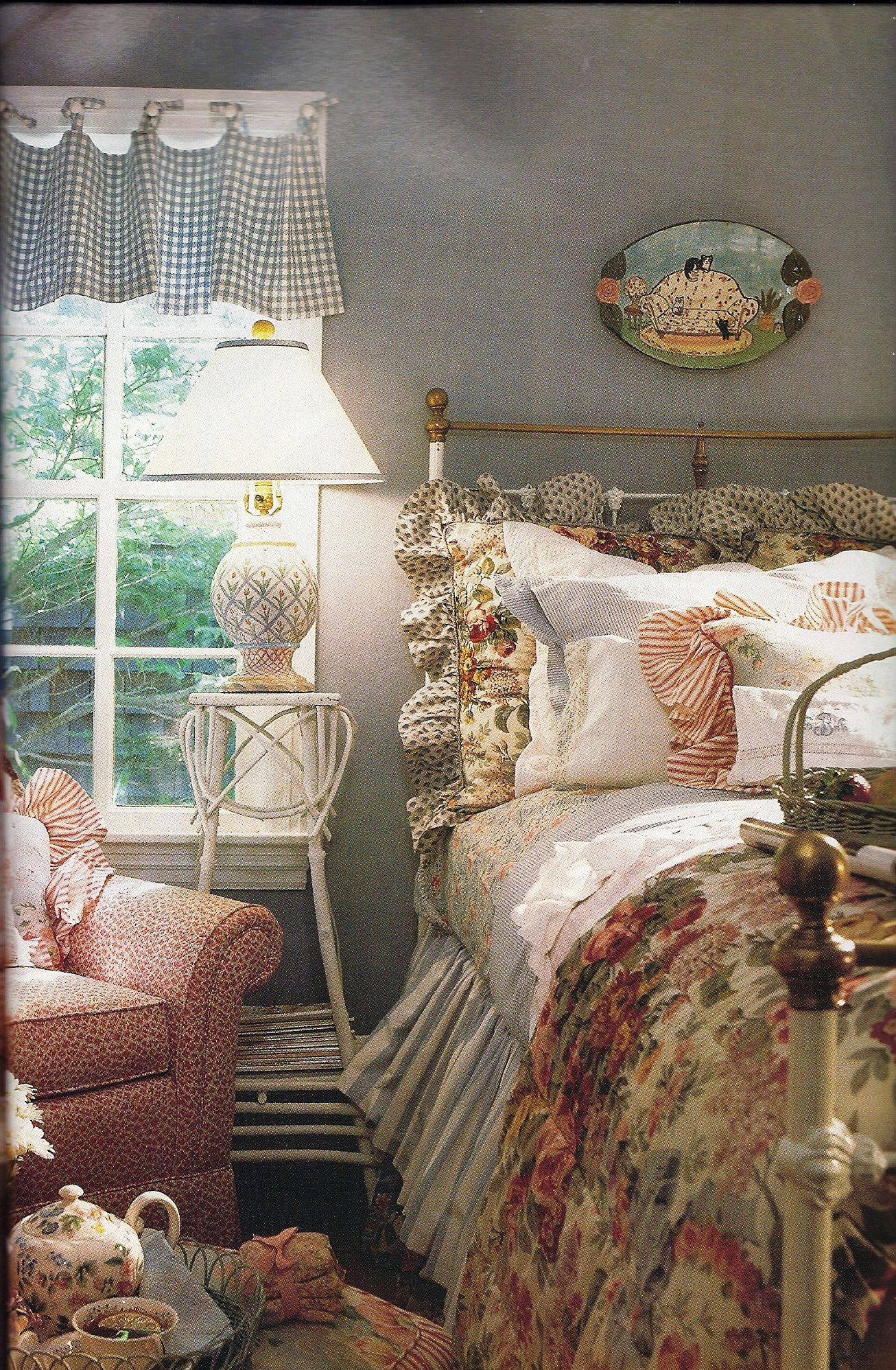 Romantic Vintage And Shabby Chic Bedroom Pinterest