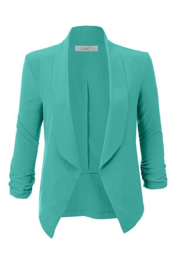Brenda Blazer Blue Tuxedo Jacket 981977a61445