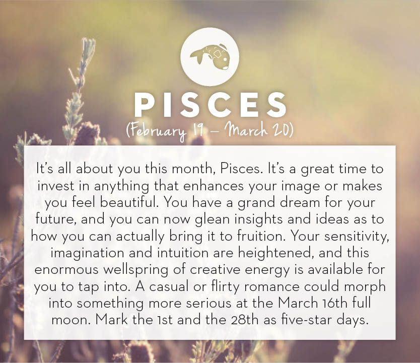 What Zodiac Sign Is March 1st