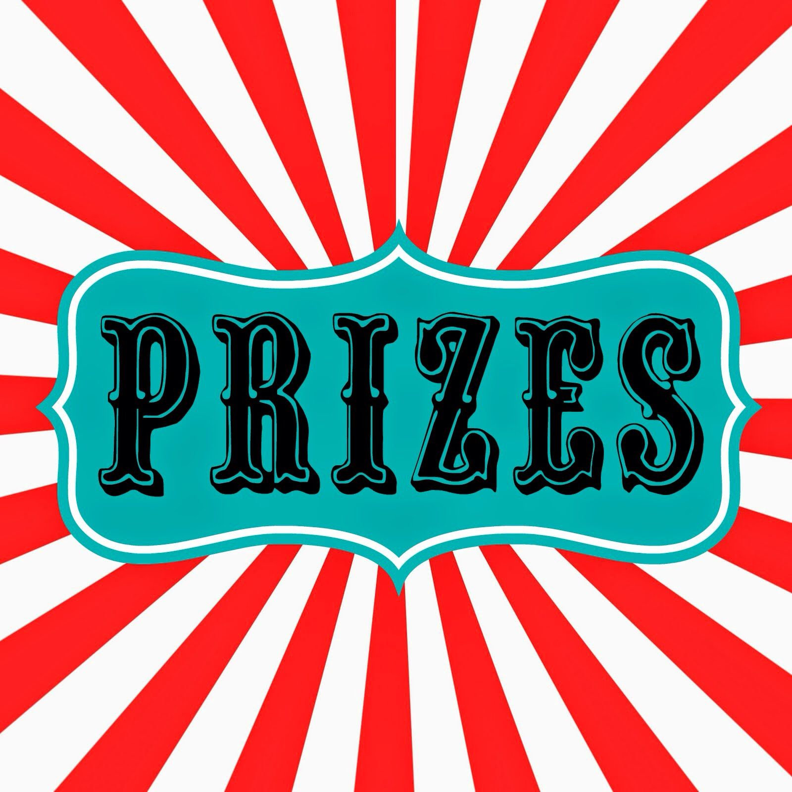 Prize Sign
