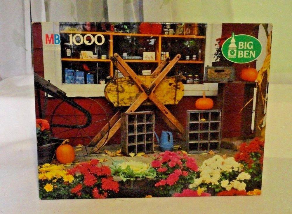 Milton Bradley Big Ben Jigsaw Puzzle 1000 pcs South