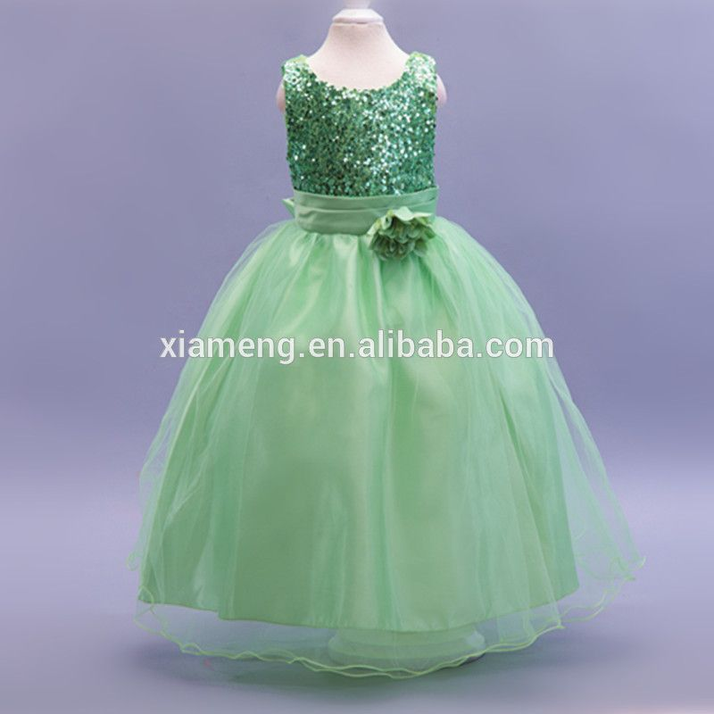 b44b621b764 green puffy dresses for girls of 9 years old