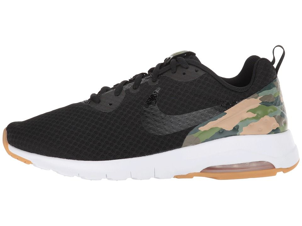 Nike Air Max Motion Low Premium Men's Running Shoes Black