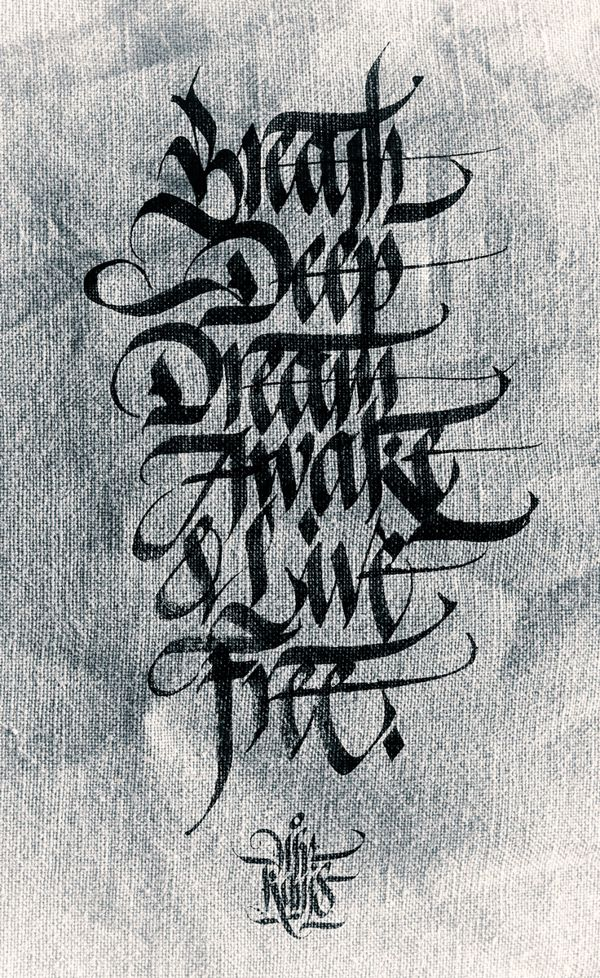 More Calligraphy Works Daily Exercises By Kams By Mister