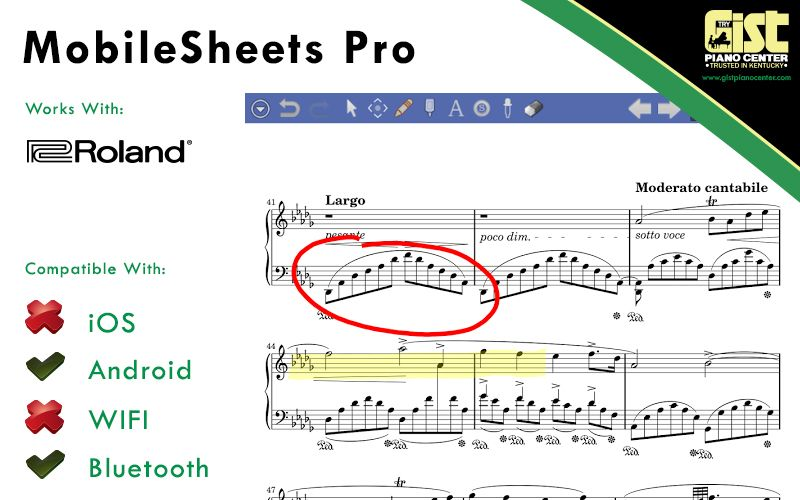 Mobilesheetspro Is The Premier Sheet Music Reader For Android
