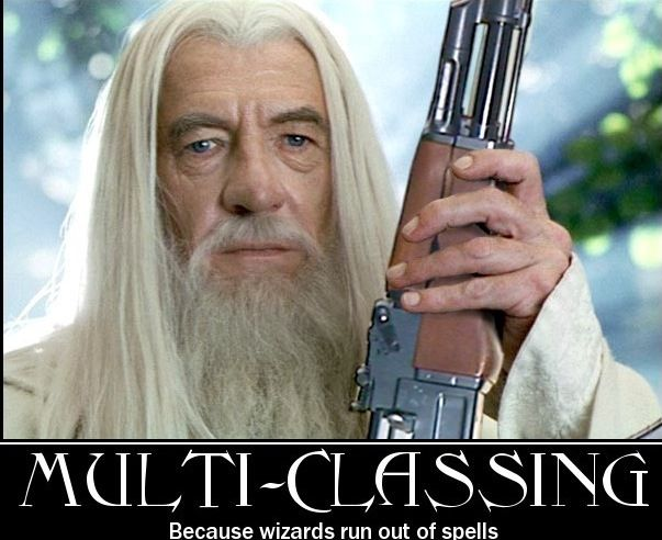 Ok Wheres Gandalf Hes Not Got A Spell To Prevent Ak 47 Damage Has