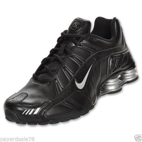 check out b9ae7 e718d MEN'S SIZE 8.5 NIKE SHOX TURBO 3.2 SL SNEAKERS BLACK RUNNING ...