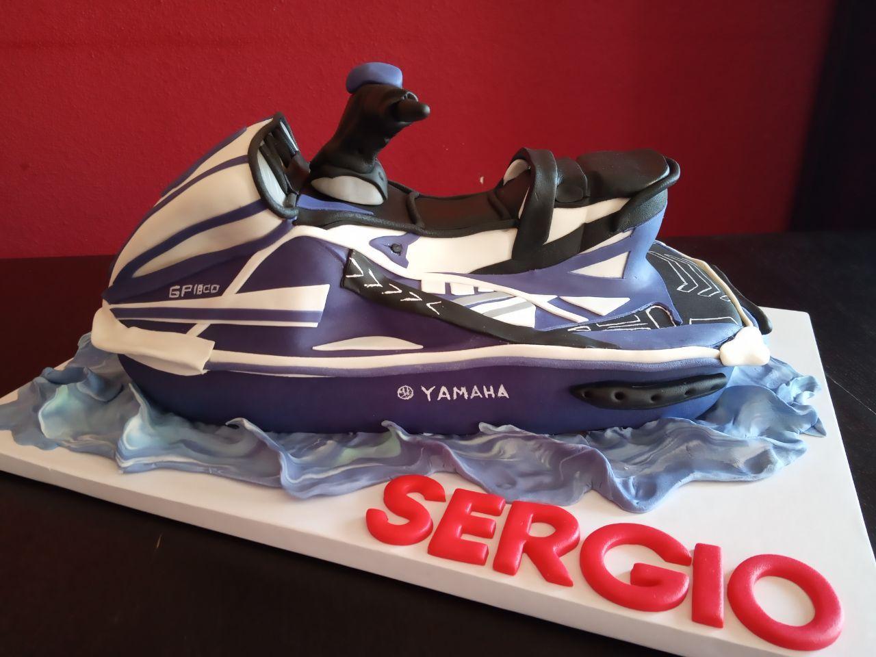 Tarta Moto De Agua Yamaha In 2020 Jet Ski Yamaha Skiing