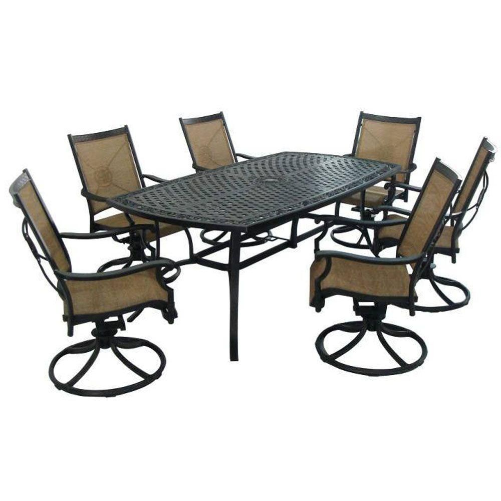 Martha Living Solana Bay 7 Piece Patio Dining Set Asr 1148 The Home Depot 1099