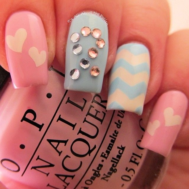 pregnancy and infant loss awareness by graciezac #nail #nails ...