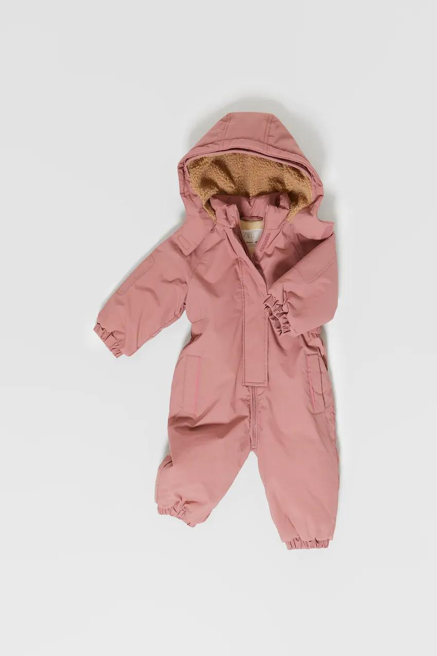 Puffer Snow Coveralls Zara United States Zara Baby Coats Girl Faux Leather Biker Jacket [ 1275 x 850 Pixel ]