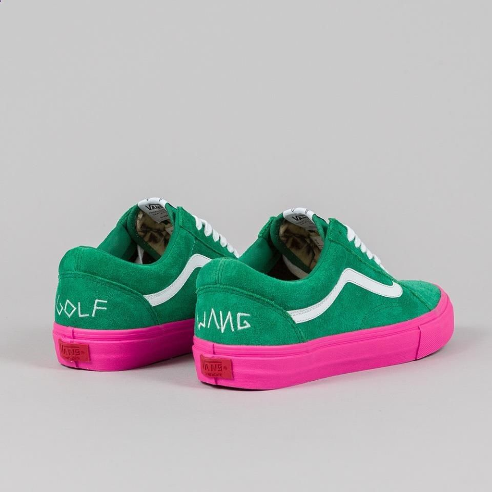 GOLF WANG x VANS Those are cool. It's