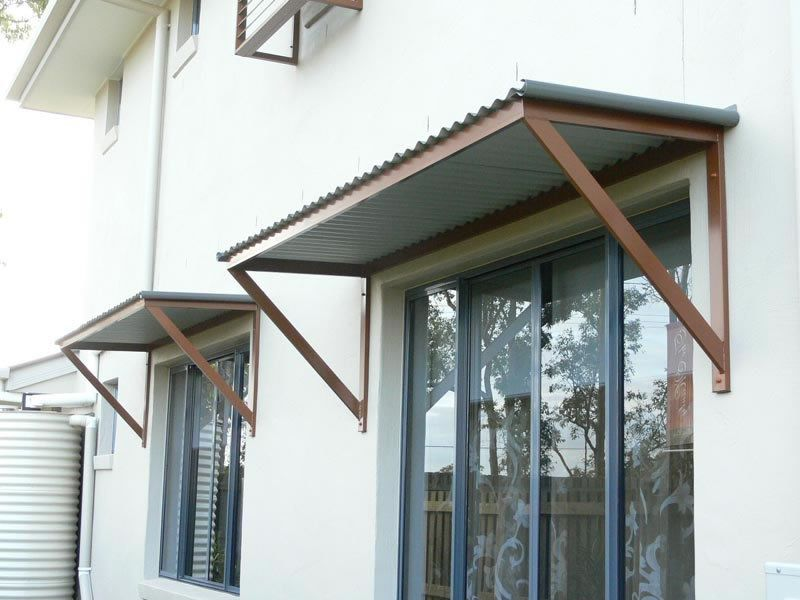 Aluminium awnings awnings brisbane traditional and for Window awnings