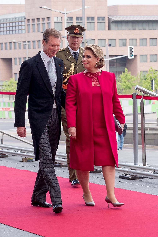 Grand Duke Henri, Grand Duchess Maria Teresa of Luxembourg