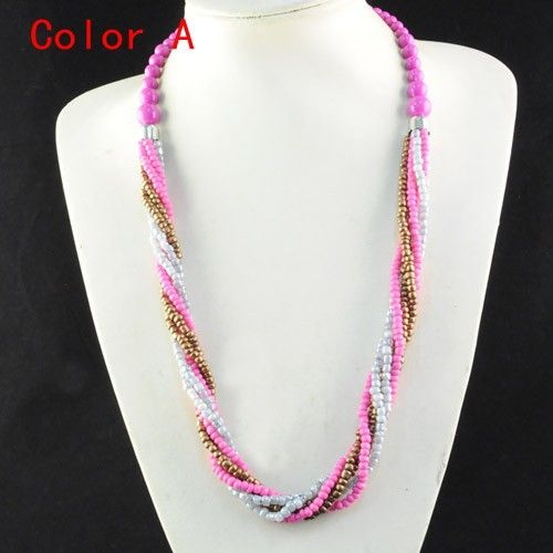 Online Buy Wholesale seed bead necklace designs from China seed