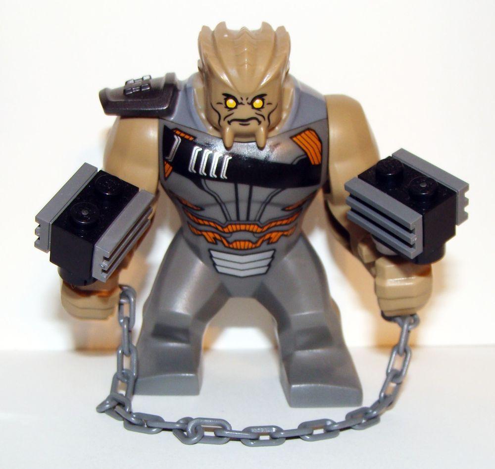 LEGO Infinity War Cull Obsidian Minifigure 76108 Mini Fig Avengers