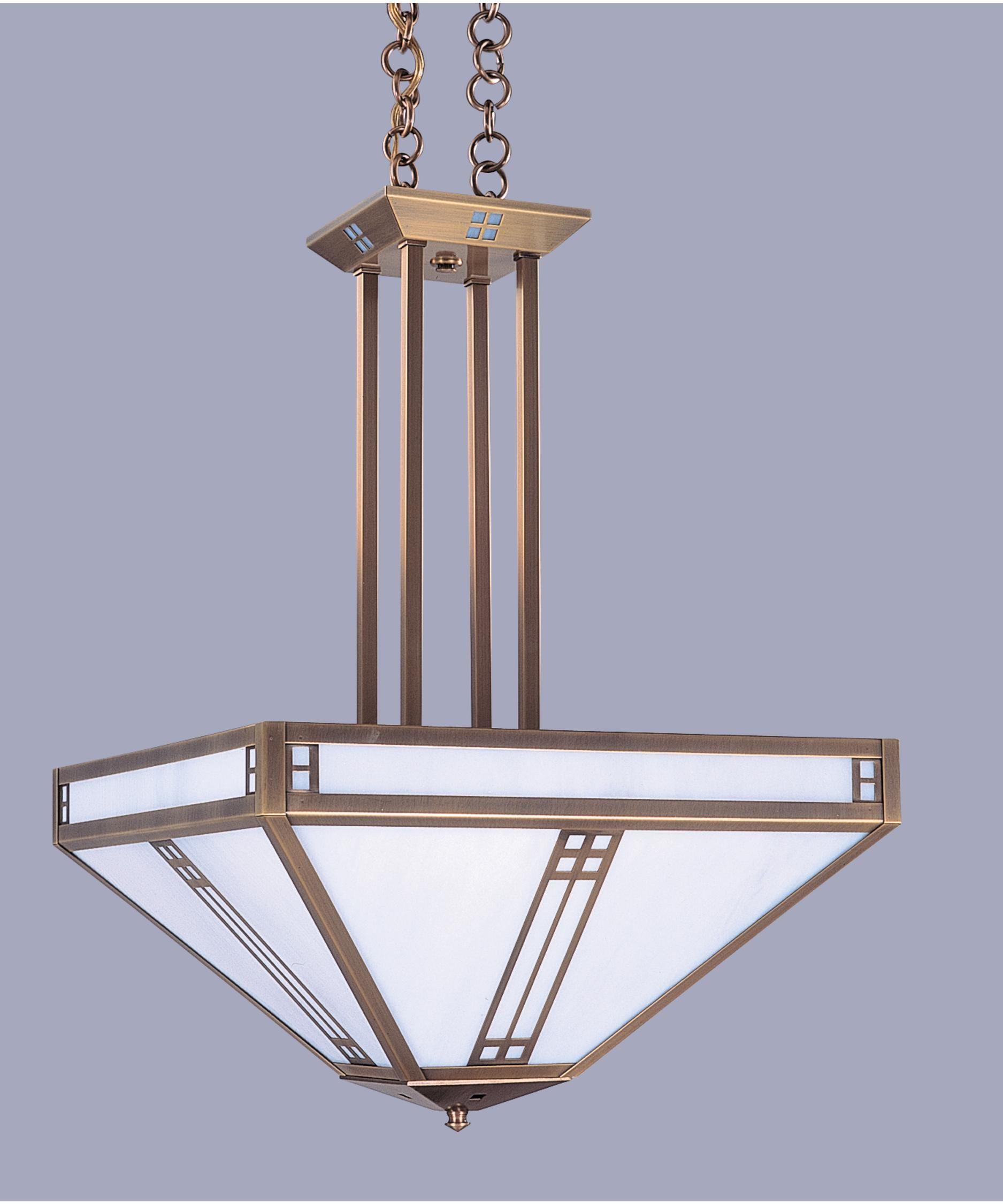 Arroyo craftsman pcch 18 prairie 18 inch wide 4 light large pendant capitol lighting 1 800lighting com
