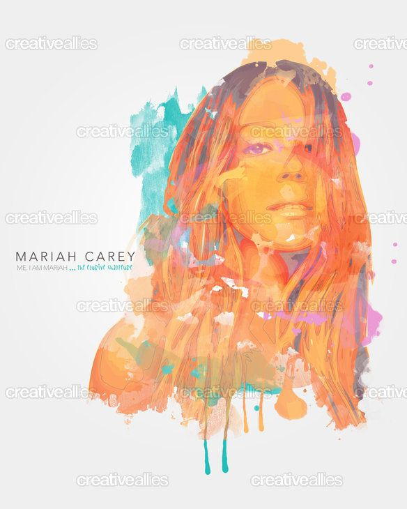Mariah Carey Design Contest Creative Allies Mariah Artwork Mariah Carey