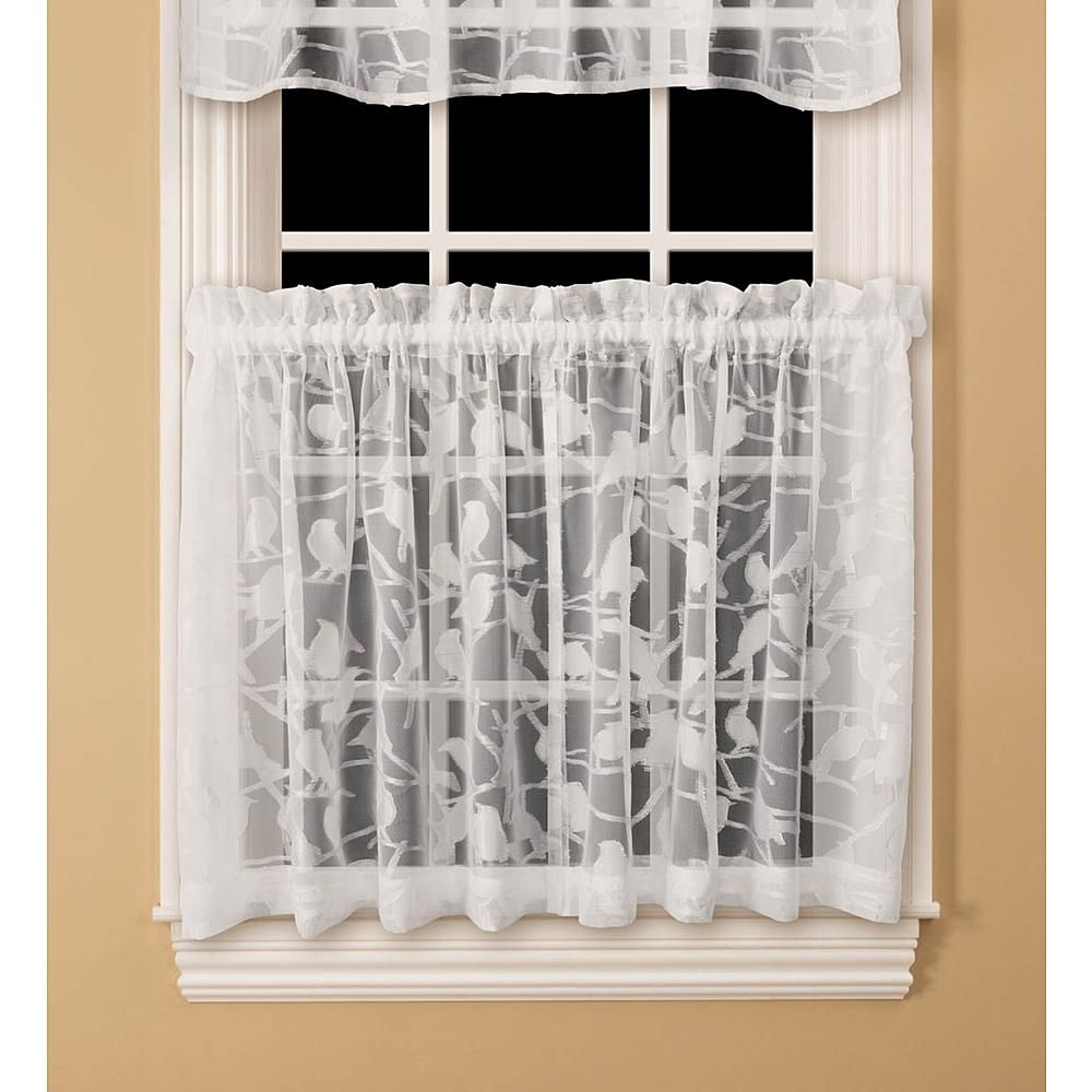 Kmart Com White Curtains Sheer Valances