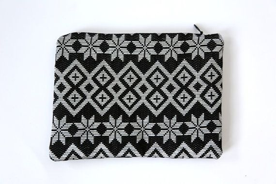 Bintang Silver Songket pouch only one in the world por LARASbags