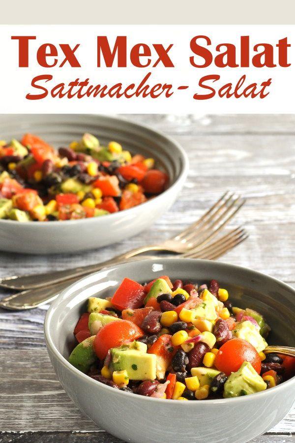 Tex Mex Salat. Sattmacher-Salat. #chickenanddressing