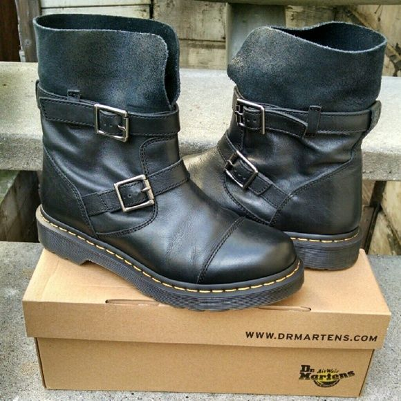 Dr Martens Boots Style Kristy Walking Boots Women Boots