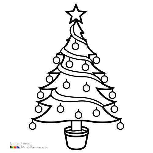 Arbol De Navidad Para Imprimir. Stunning Caja Imprimible Con Dibujo ...