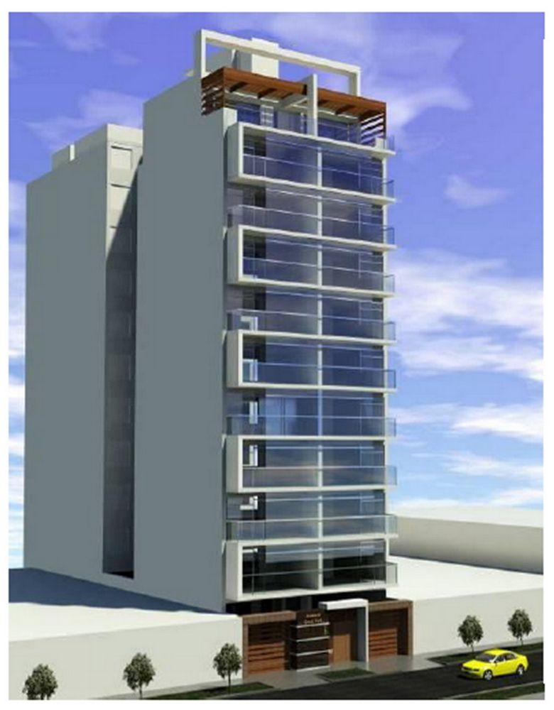 Fachadas de departamentos modernos buscar con google - Fachadas edificios modernos ...