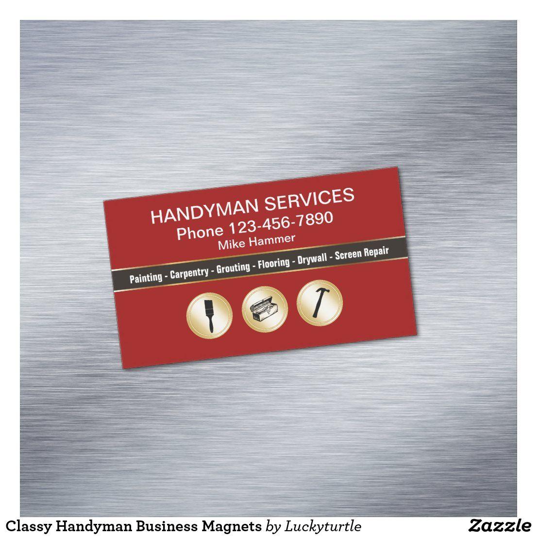 Classy handyman business in 2020