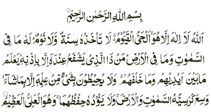 Ayatul Kursi Best Dua For Muslims Ayatul Kursi Hadith Quran