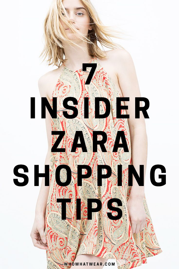 f268d77e 7 Insider Tips for Finding the Best Stuff at Zara in 2019 | Tips ...