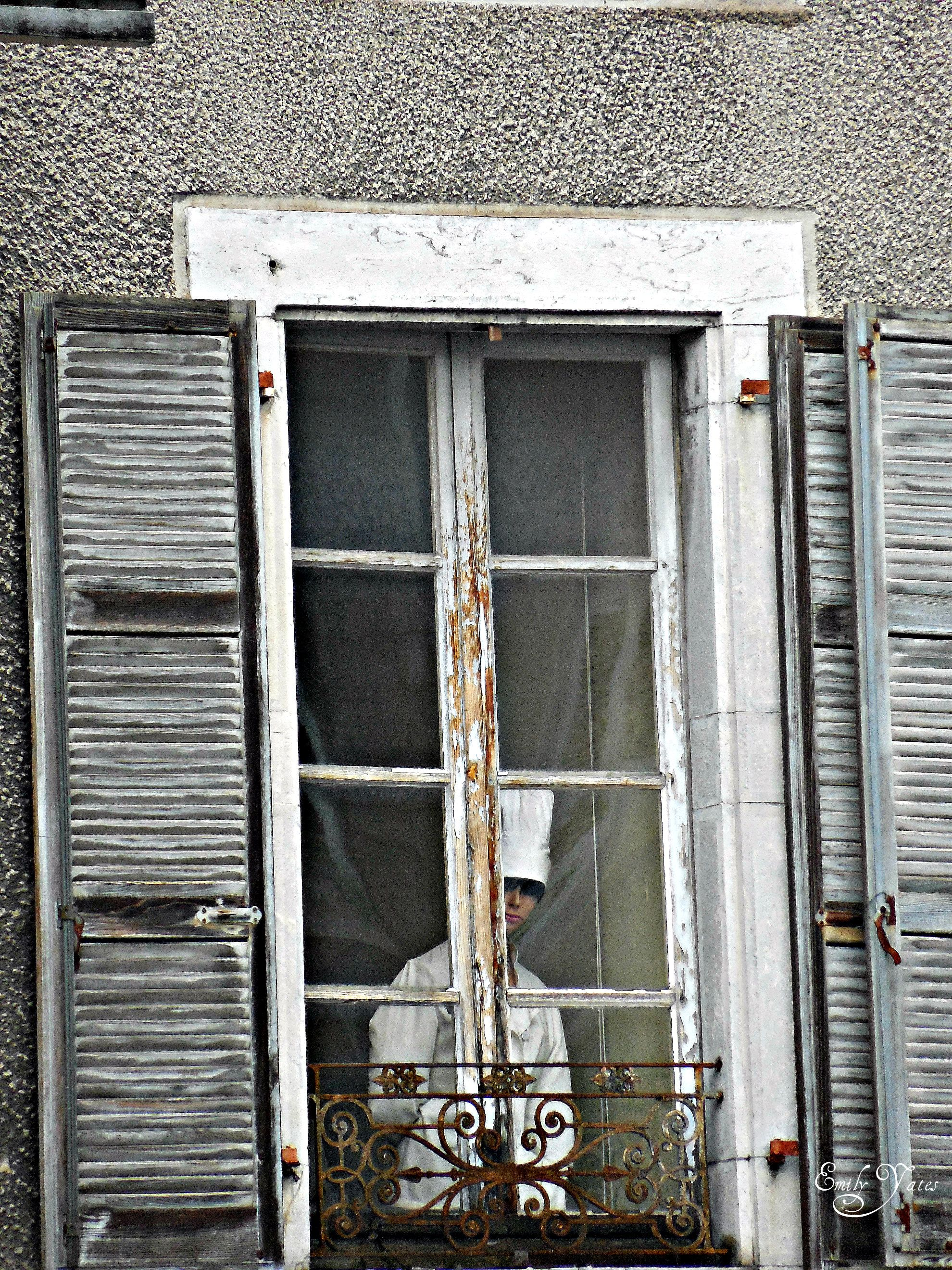 Window Lourdes France Lourdes France Ladder Decor Decor