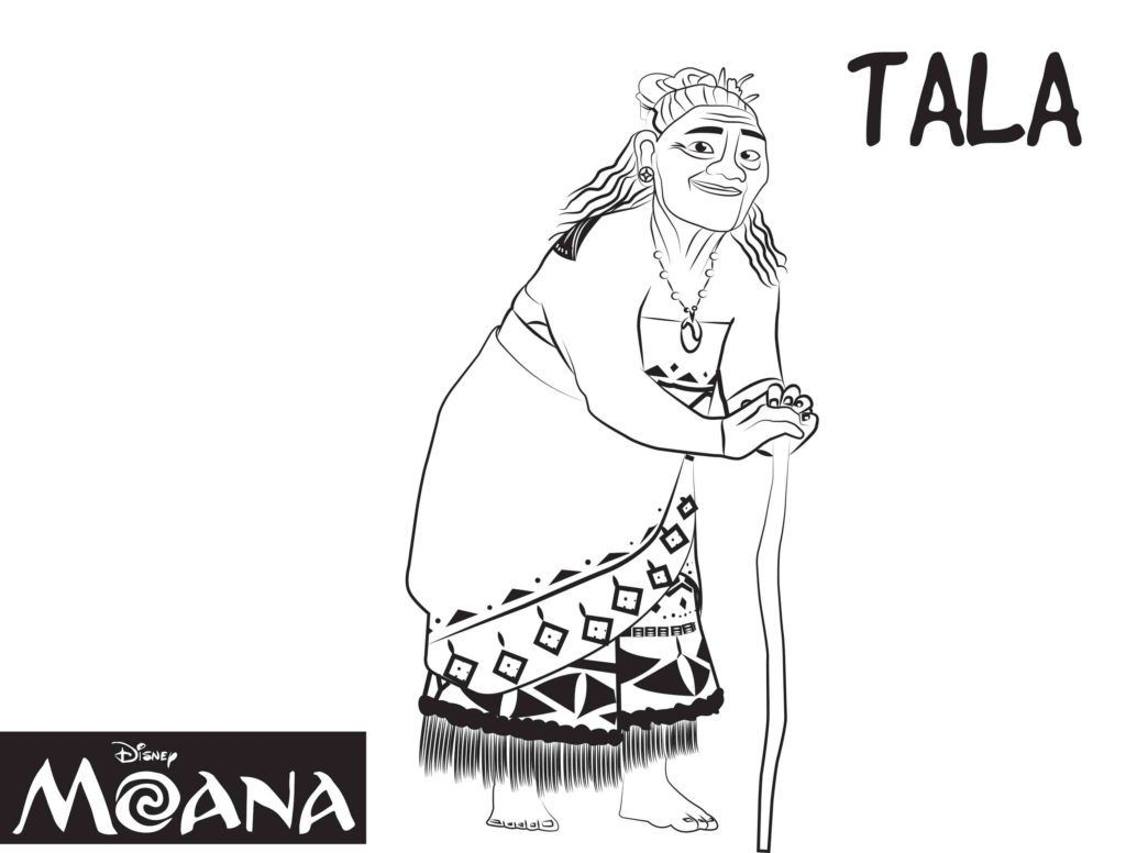 Coloring pages disney moana - Tala From Moana Disney Coloring Pages Printable And Coloring Book To Print For Free Find More Coloring Pages Online For Kids And Adults Of Tala From Moana