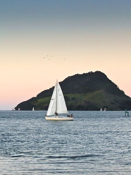 Mount Maunganui beach, new zealand.  beach front house for 6m - 8m rental.