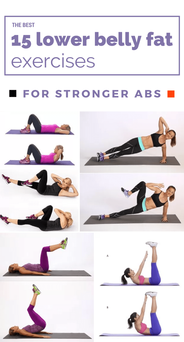 The Best 15 Lower Belly Fat Exercises For Stronger Abs ...
