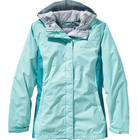 Columbia Women S Arcadia Ii Rain Jacket Ocean Water Miami Waterproof Breathable Packable Features An Omni Tech Rain Jacket Women Jackets Rain Jacket