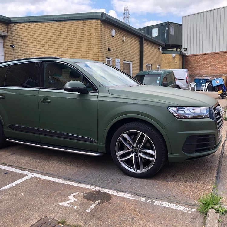 """Wrapping Cars 🇬🇧 on Instagram """"Audi Q7 wrapped in 3M"""