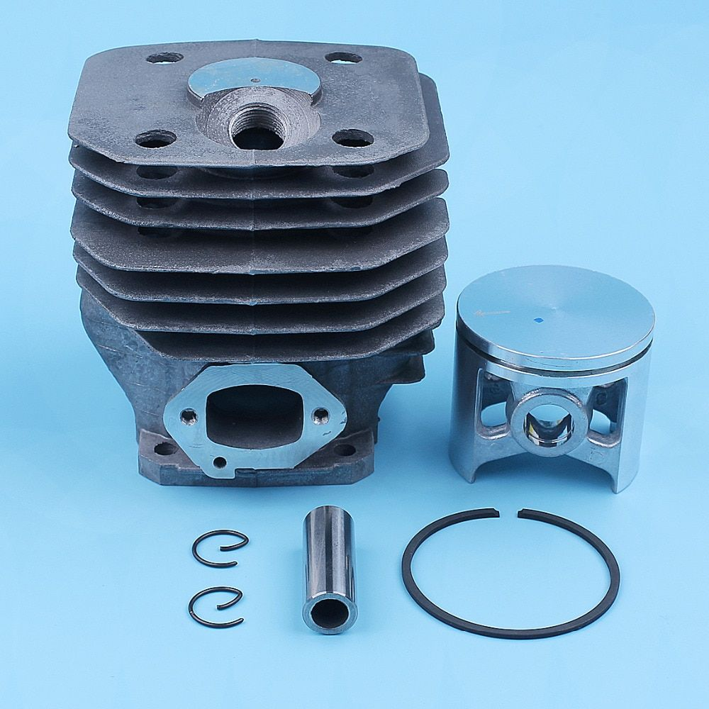48mm Nikasil Coated Cylinder Piston Ring Pin Kit For Husqvarna