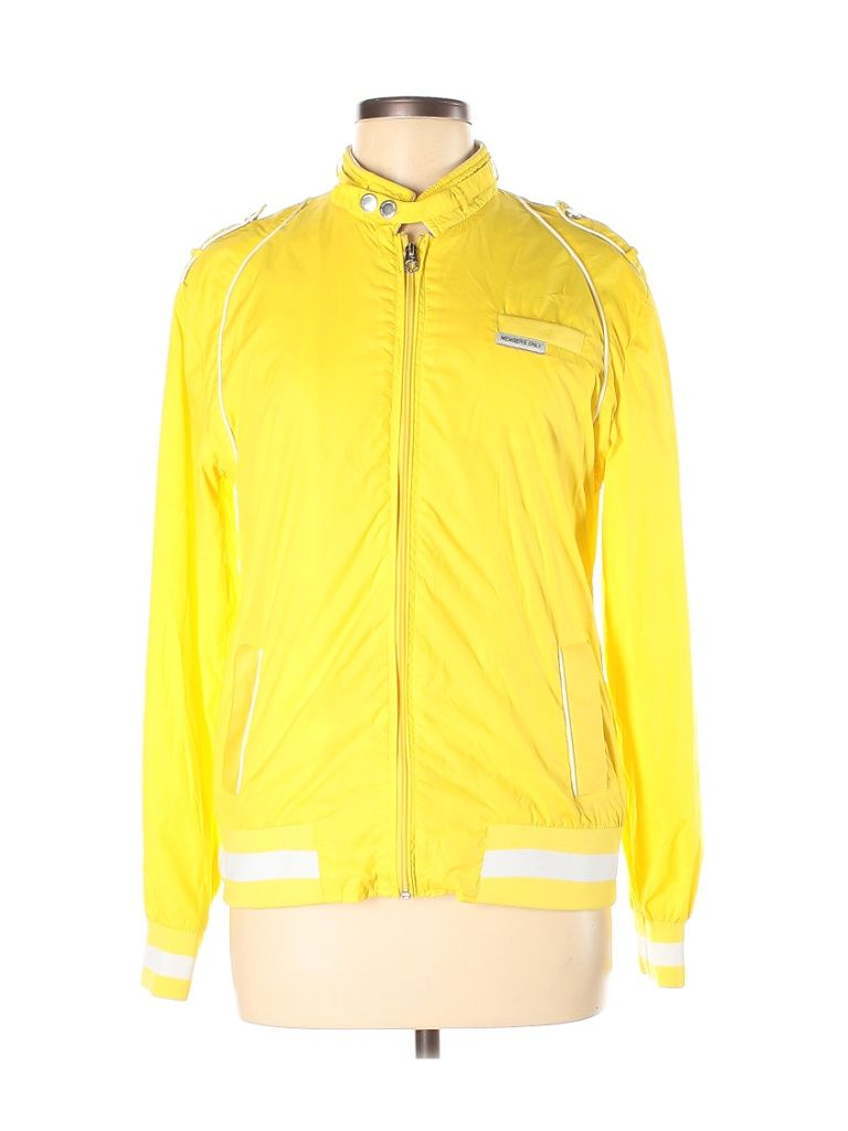 Mo X Members Only Jacket Yellow Jackets Outerwear Size Medium Outerwear Jackets Members Only Jacket Athletic Jacket [ 1024 x 768 Pixel ]