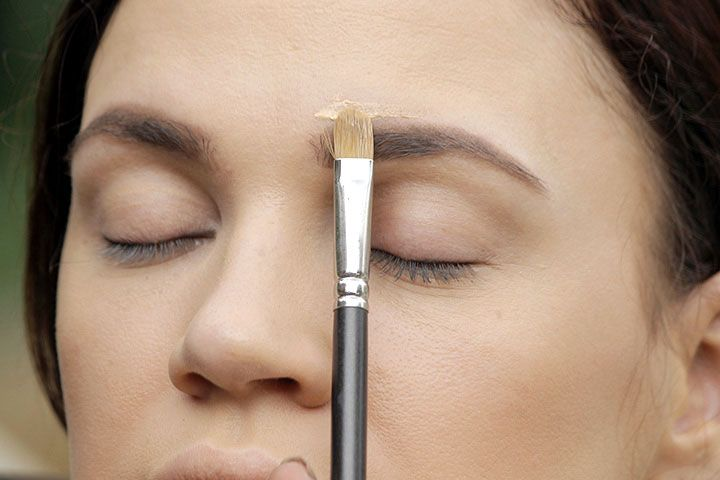 How To Make Eyebrows Thicker Step 5 Conceal And Perfect Makeup