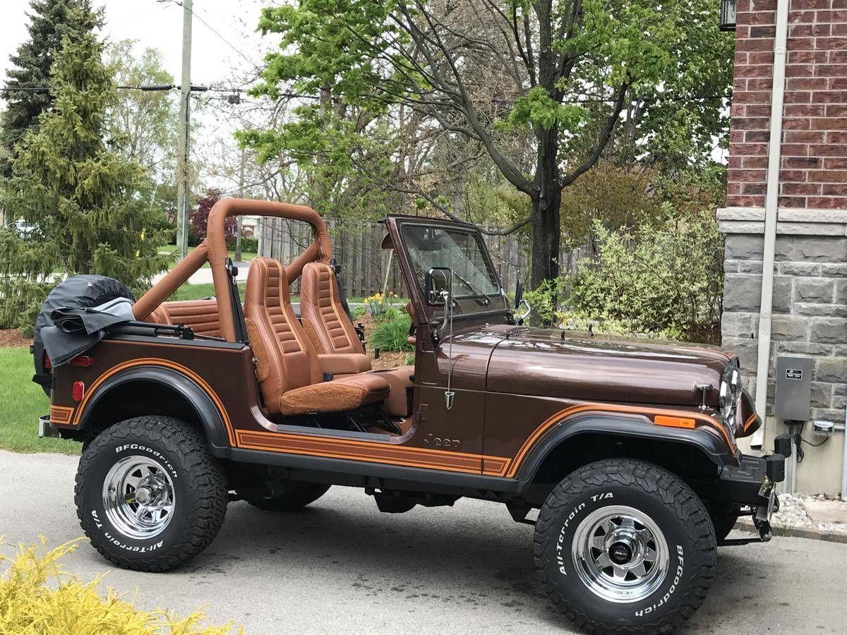1983 Jeep Cj7 Voitures Et Motos Voiture Concept Cars