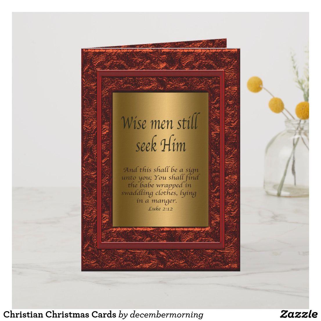 Christian Christmas Cards Happy Holidays Pinterest